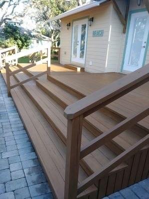 Wood deck stained in New Smyrna, FL (3)