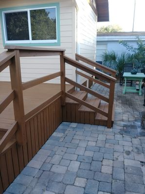 Wood deck stained in New Smyrna, FL (4)